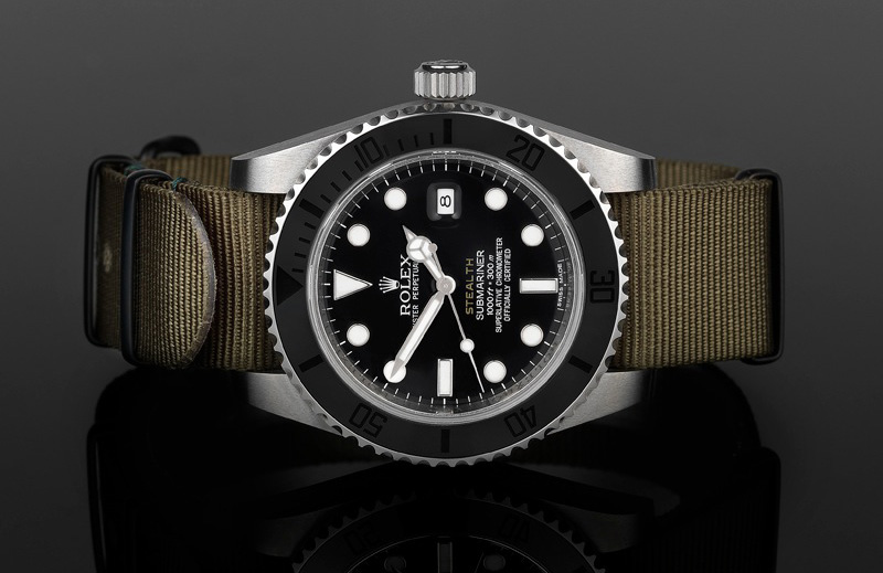 submariner stealth watches rolex the project refined x ruggedly