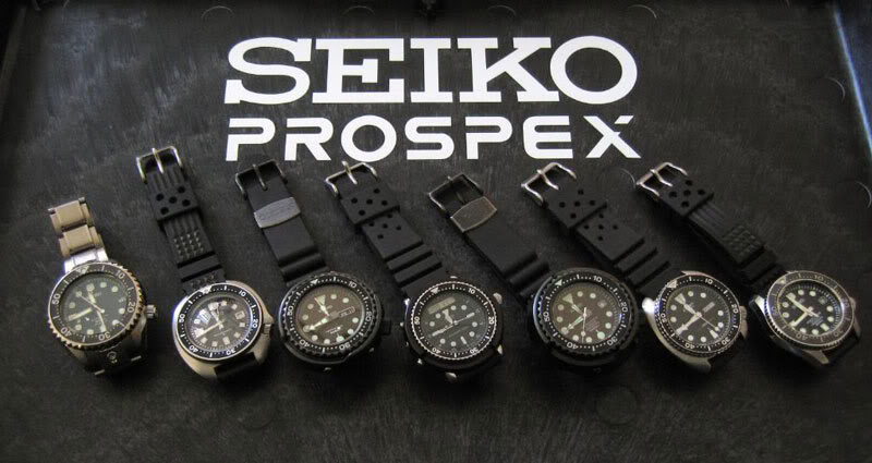 Seiko prospex collection