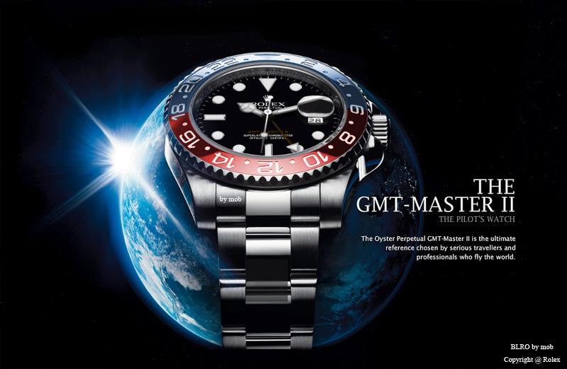 Rolex GMT-Master II Pepsi Cerachrom
