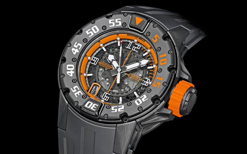 Richard Mille RM028 ORANGE FLASH EMEA