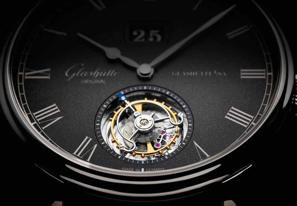 Glashuette Original Senator Tourbillon