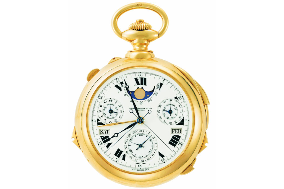 The Graves Supercomplication courtesy of Patek Philippe