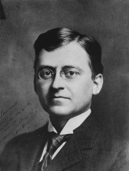 A young James Ward Packard