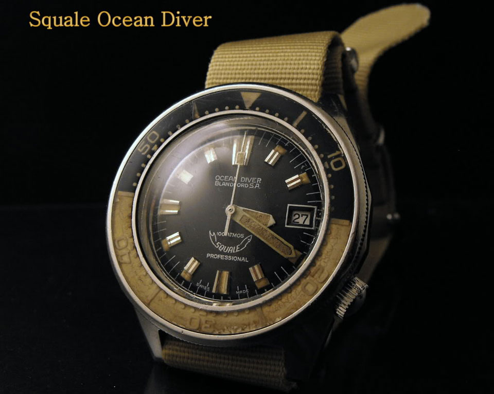 Weekly watch photo squale ocean diver blandford 100 - Oceanic dive watch ...