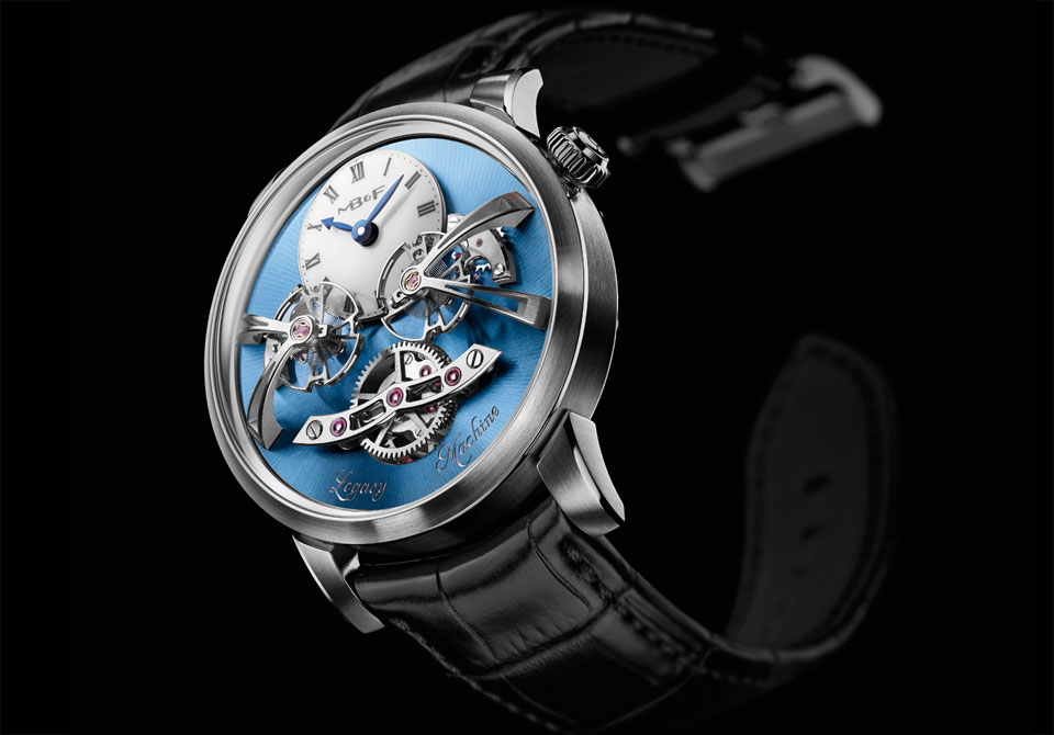 MB&F Legacy Machine 2 platinum