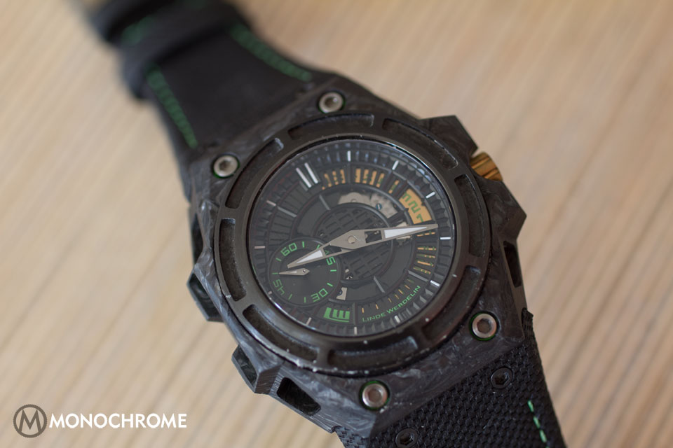 Linde Werdelin SpidoLite II Tech Green