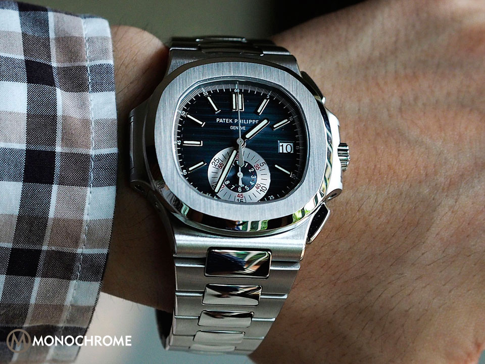 patek philippe nautilus fully reviewed monochrome watches