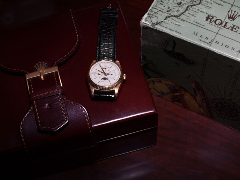 Rolex Perpetual Calendar by Franck Muller-3