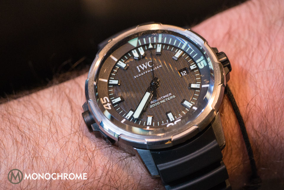 Introducing The 2014 Iwc Aquatimer Collection With Live
