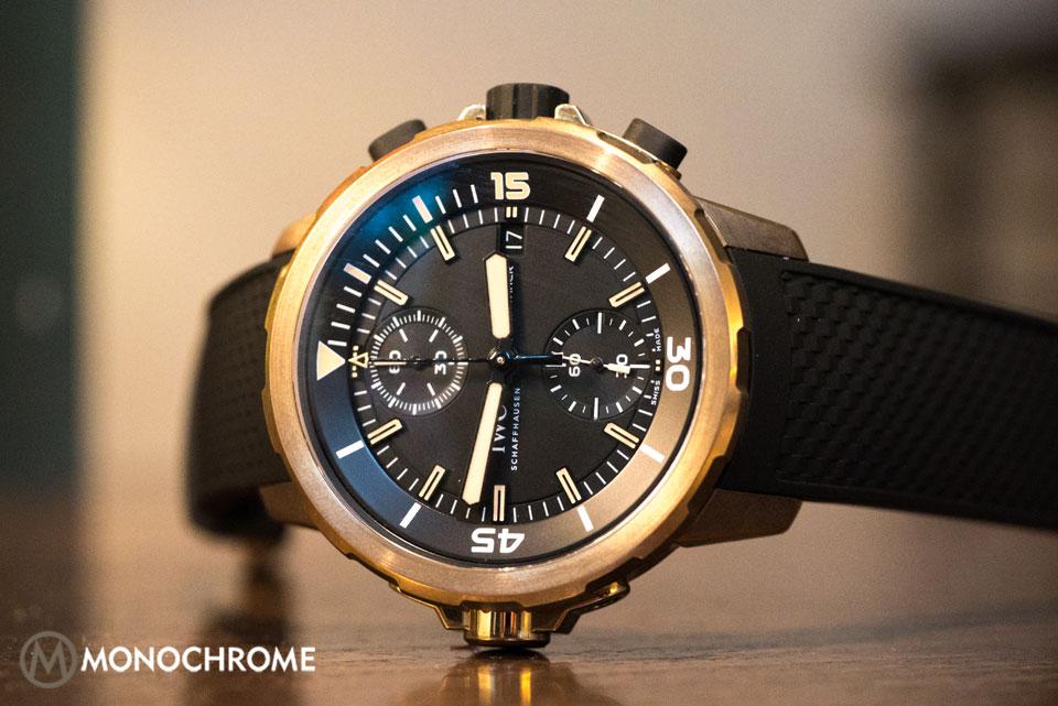 IWC Aquatimer Chronograph Bronze Edition Charles Darwin IW379503