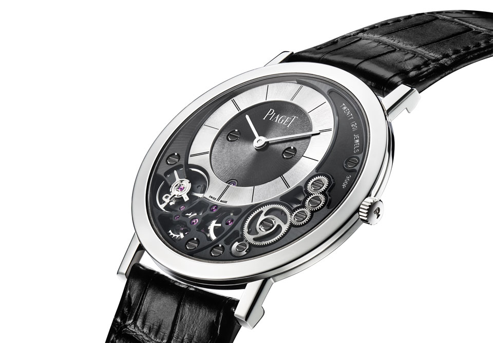 Introducing the World's Thinnest Mechanical Wrist Watch: Piaget Altiplano 38mm 900P