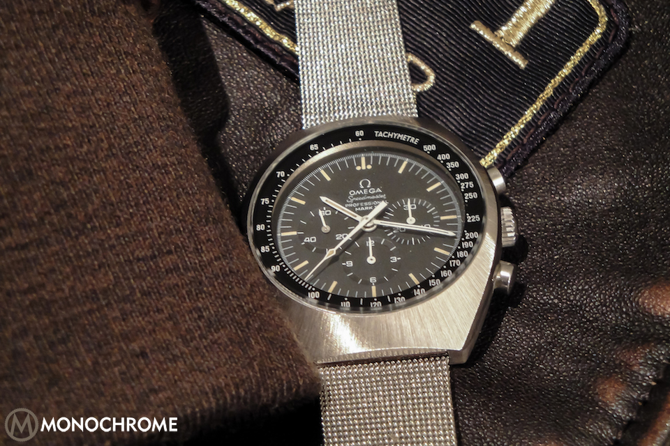 When omega re issues the speedmaster mark ii monochrome s - Knights of the round table watch price ...