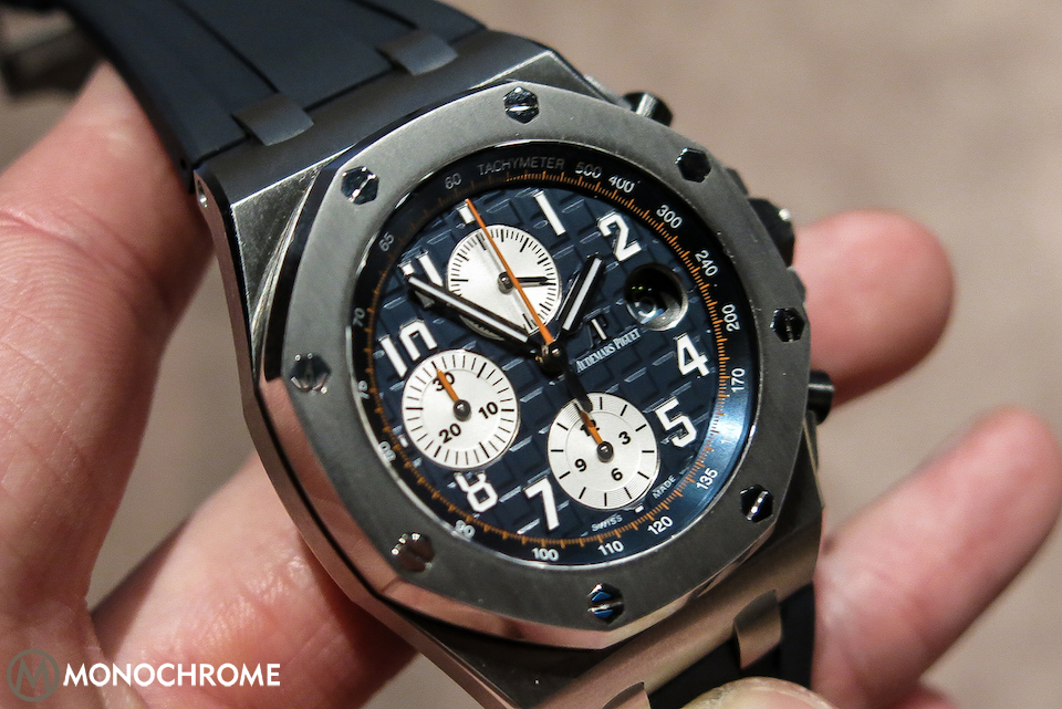 SIHH 2014: Audemars Piguet reveals 6 updated versions of the Royal Oak offshore Chronograph (live photos)