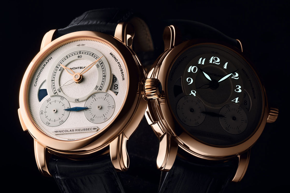 SIHH 2014: Introducing the Montblanc Homage to Nicolas Rieussec Limited Editions