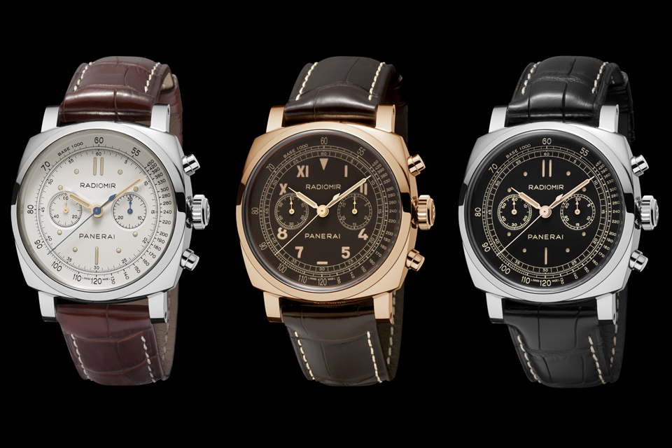SIHH 2014: Introducing the New Panerai Radiomir 1940 Chronograph