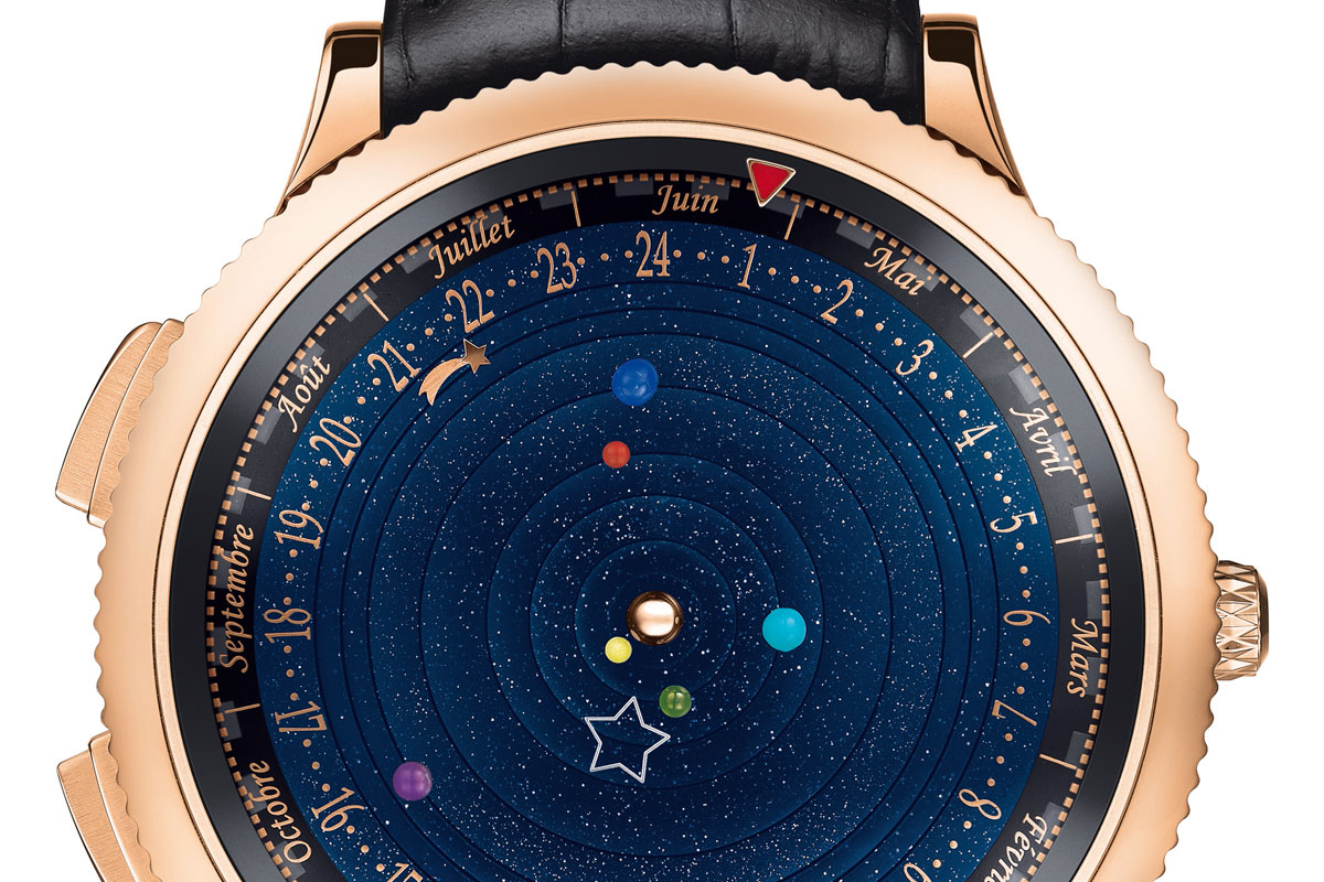 Van Cleef & Arpels Puts the Poetry of the Planets on Your Wrist – The Midnight Planetarium Poetic Complication