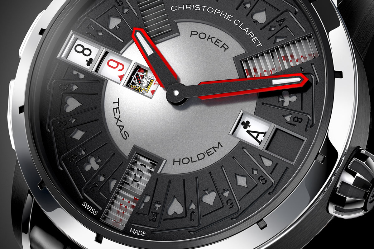 Christophe Claret Ups the Ante With The New Poker Watch