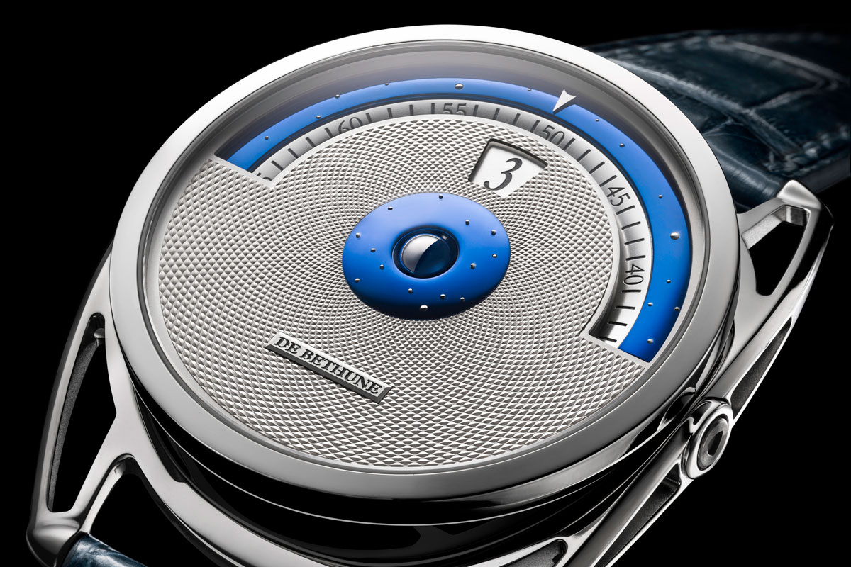 The Elegant Mixture of Time and Space – DeBethune DB28 Digitale