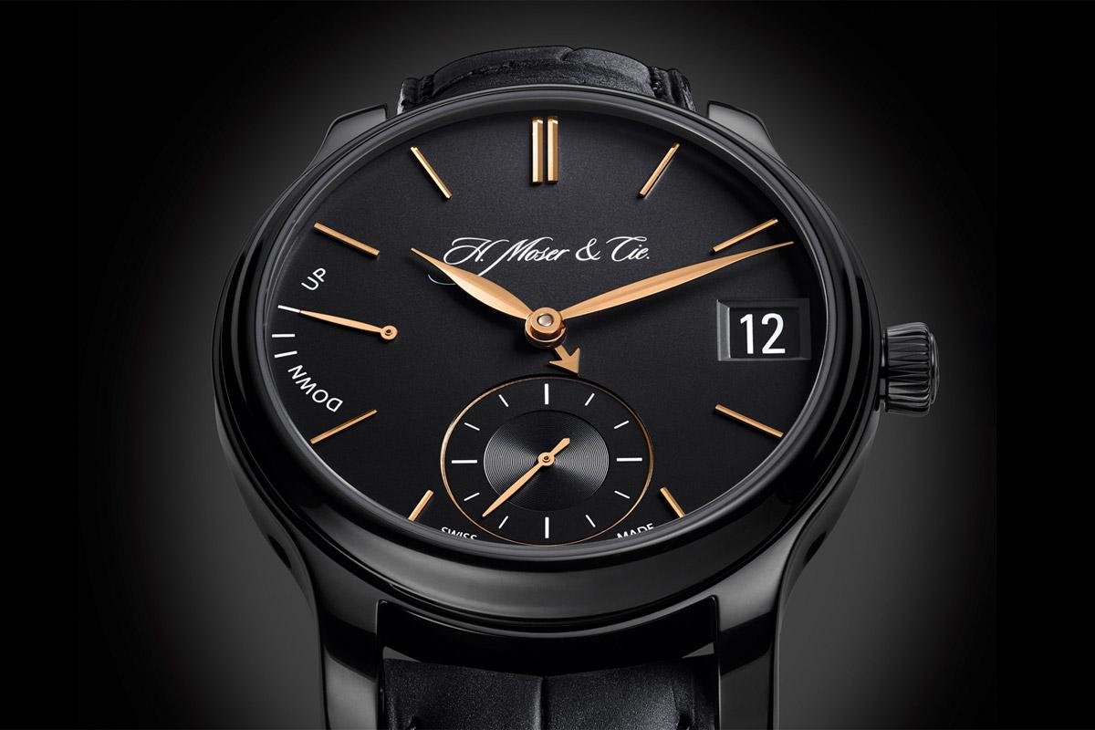 H. Moser & Cie Perpetual Calendar Black Edition
