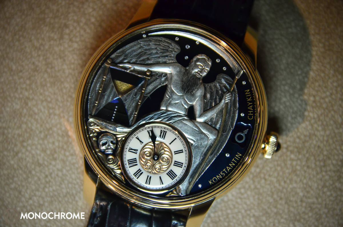 Hands-on with the Konstantin Chaykin Carpe Diem, a Wrist Watch with a Functional Hourglass