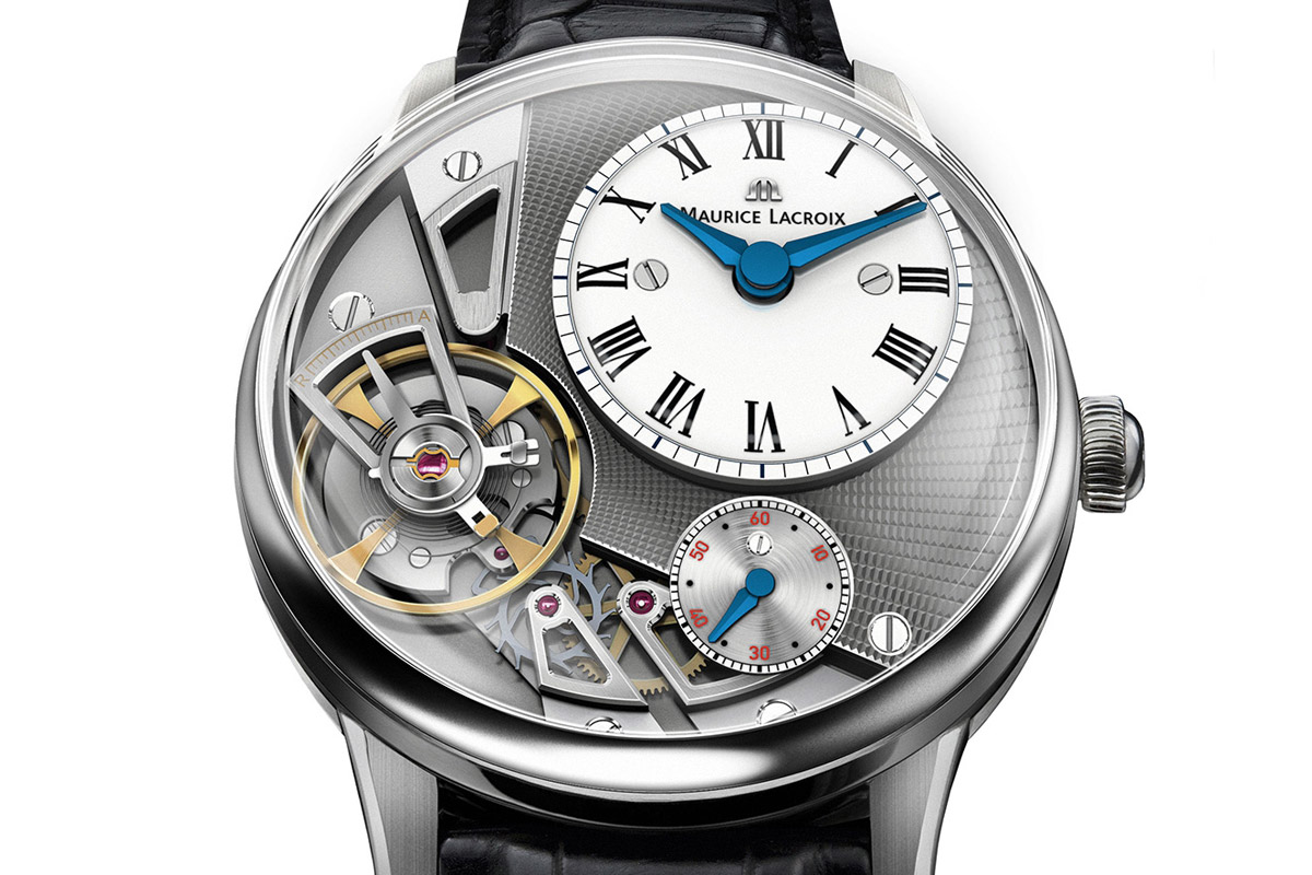 Baselworld 2014: Introducing the Maurice Lacroix Masterpiece Gravity in-house Escapement