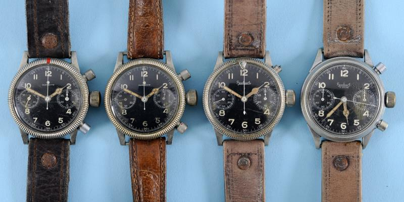 German Military Watches Hanhart Glashütte