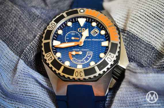 Introducing the Girard-Perregaux Sea Hawk in Cobalt Blue (LIVE photos & Pricing)