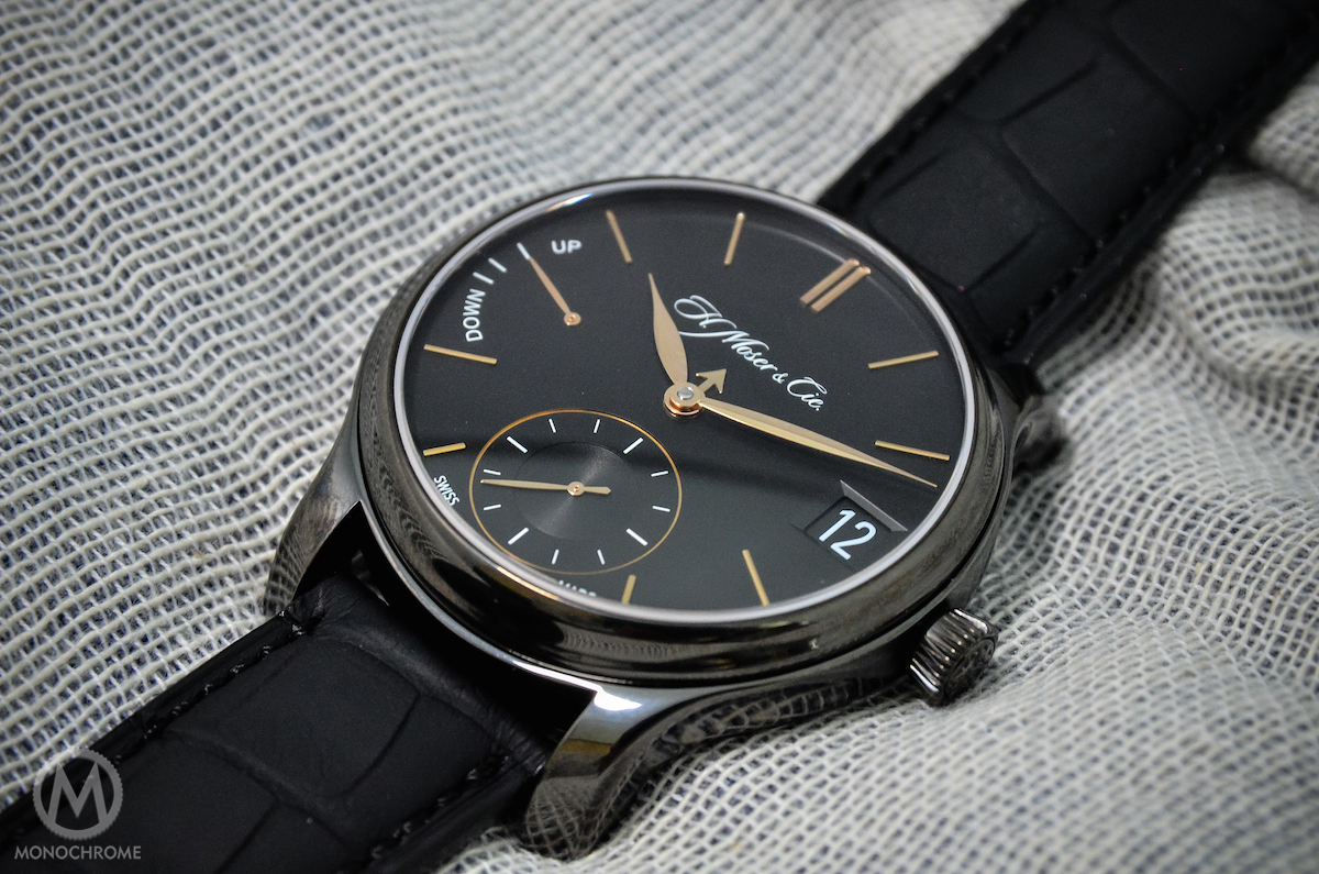 Hands-on with the H. Moser & Cie. Perpetual Calendar 'Black Edition' – LIVE PHOTOS & PRICING