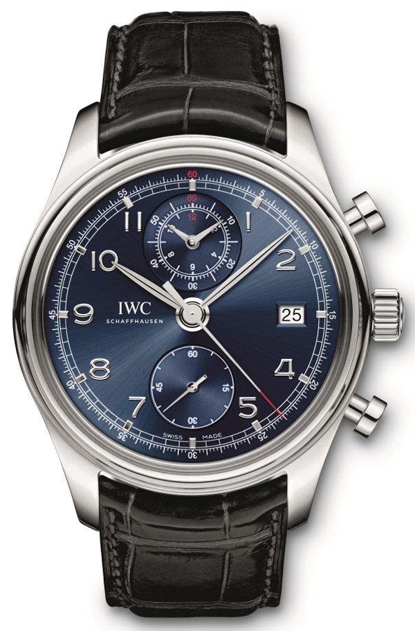 IWC Introduces the Portuguese Chronograph Classic Edition Laureus Limited Edition for Charity