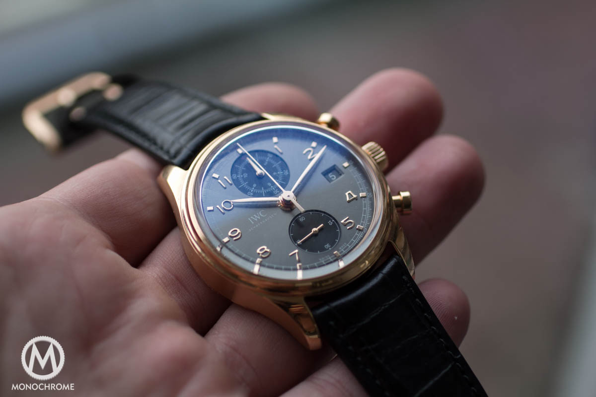REVIEW: IWC Portuguese Chronograph Classic ref. 3904 ...