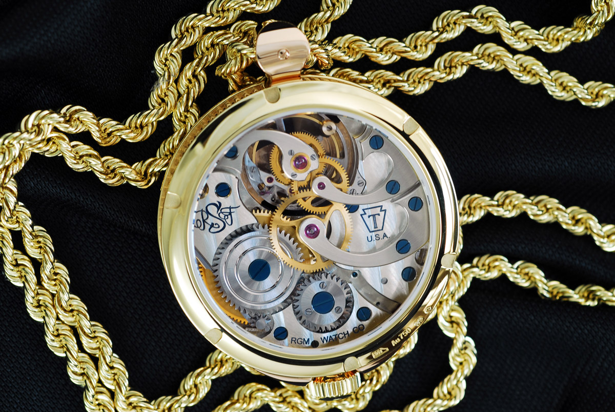 RGM Pennsylvania Tourbillon pendant