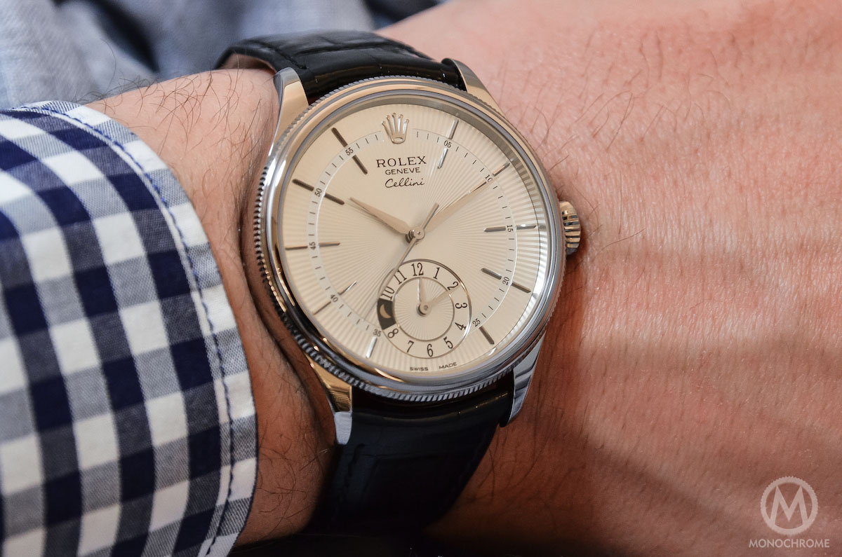 the new rolex cellini collection handson with the three