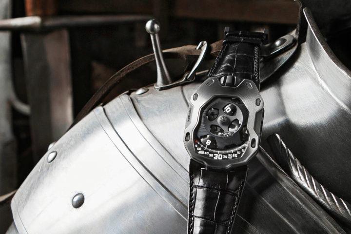 Introducing the URWERK UR-105M 'Iron Knight' and 'Dark Knight ...