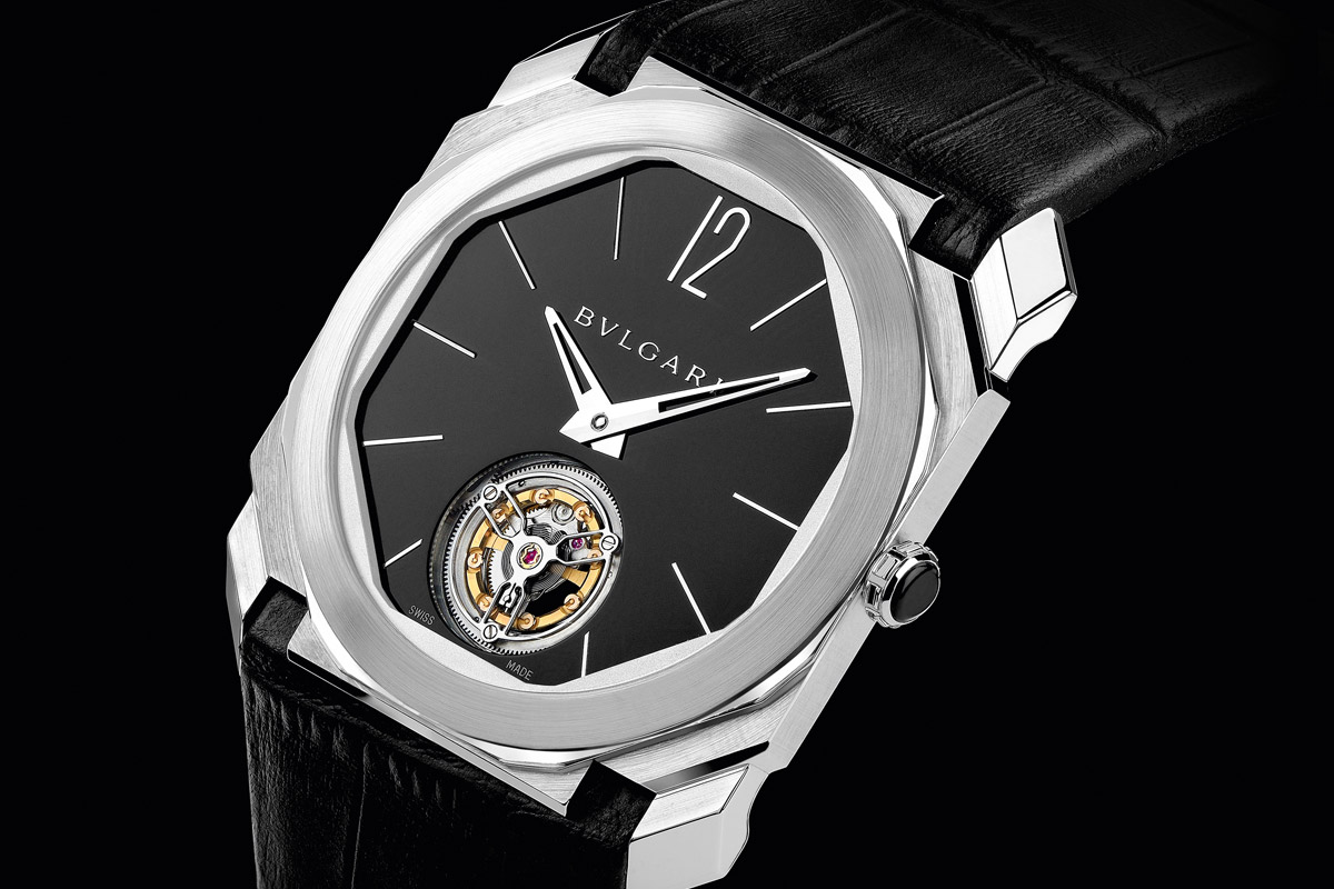 Introducing the World's Thinnest Tourbillon: the Bulgari Octo Finissimo Tourbillon