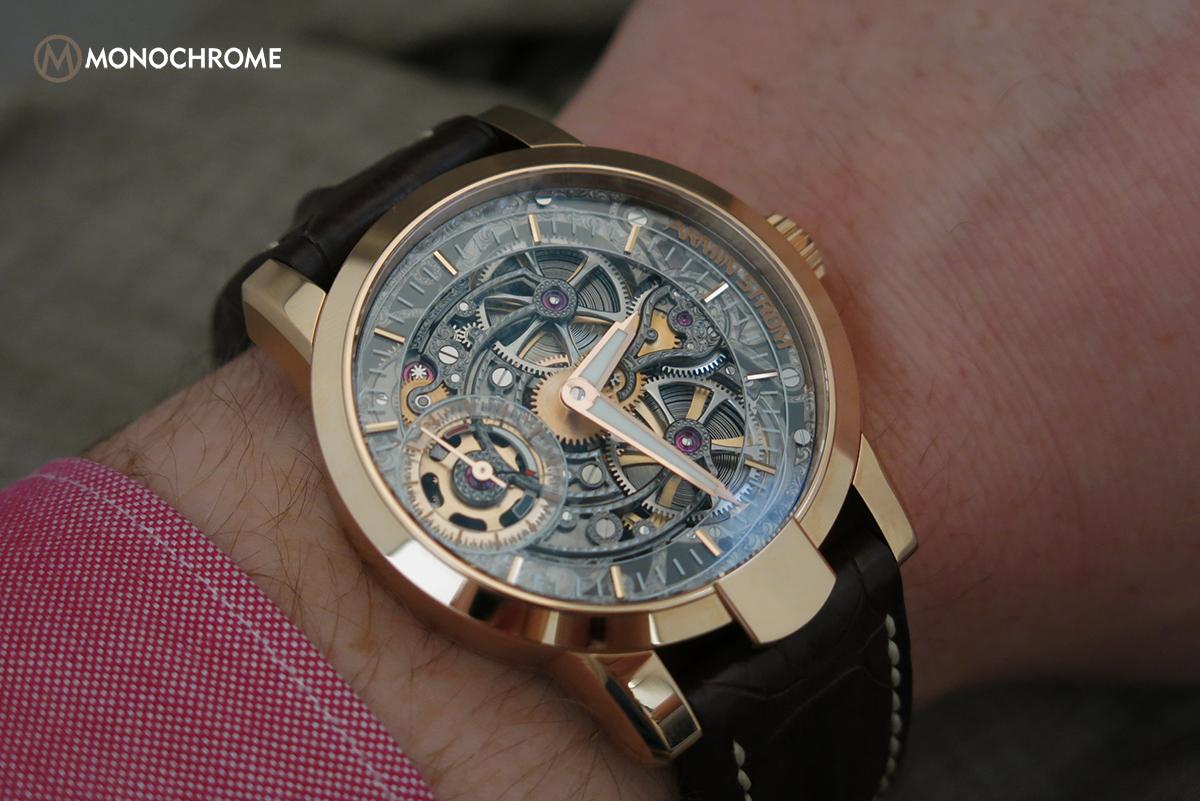 Armin Strom One Week Skeleton Rose Gold