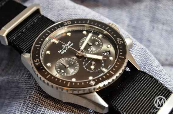 Blancpain Bathyscaphe Chronographe Flyback steel - 1