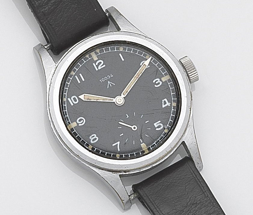 Record W.W.W. military watch