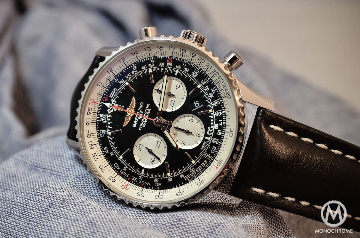 watches monochrome navitimer introducing in the breitling
