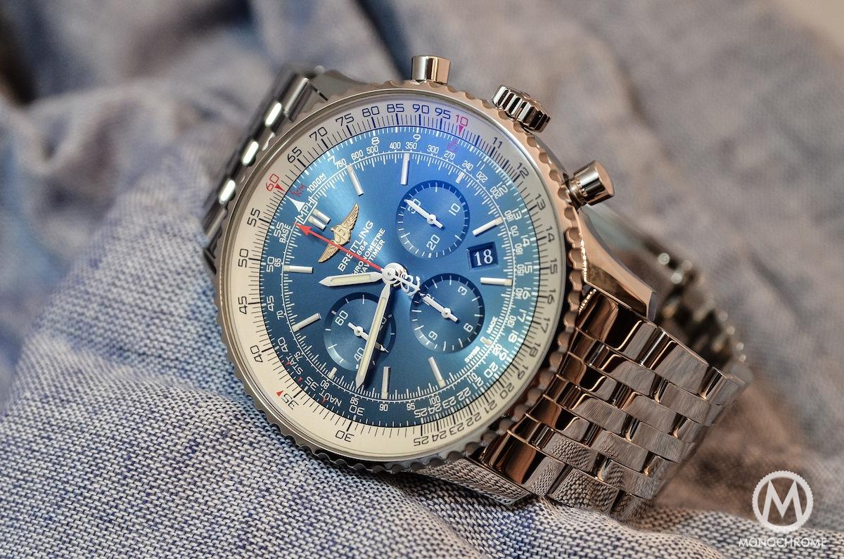Breitling Navitimer 01 Blue