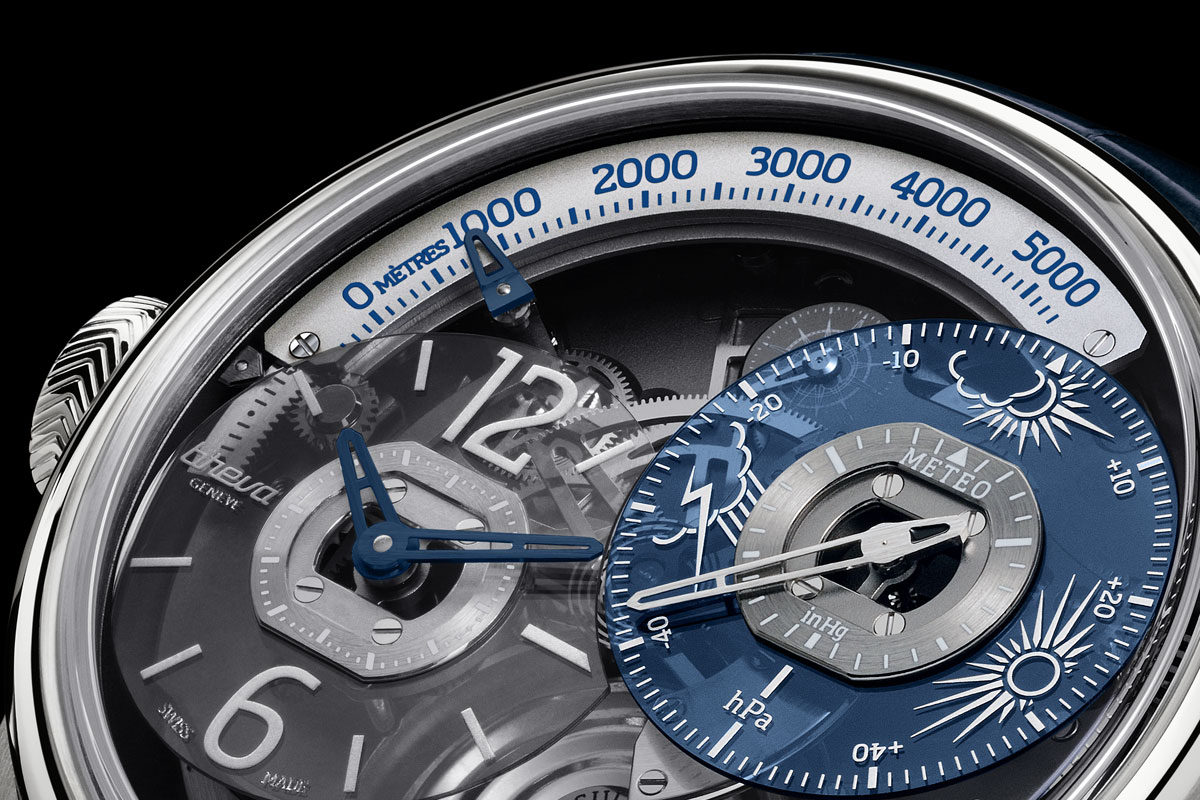 Breva Génie 01 Limited Edition in Platinum (Specifications & Pricing)