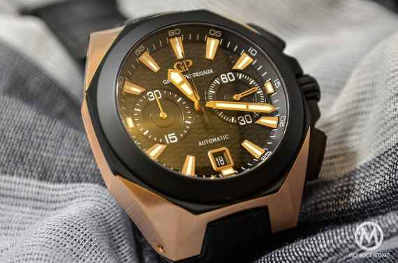 Girard-Perregaux Chrono Hawk Pink Gold - 4