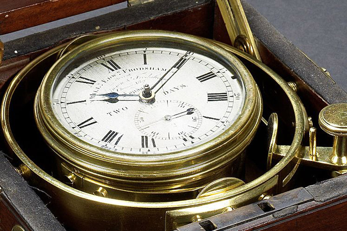 FOUND: The Actual Marine Chronometer That Accompanied Charles Darwin at the HMS Beagle on his Journey to the Galapagos Islands
