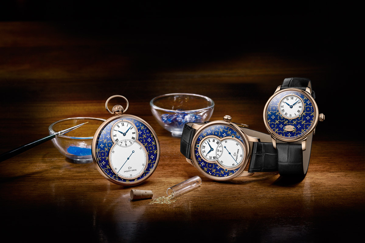 Jaquet Droz Makes Three Watches Fit for a King