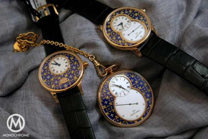 Jaquet Droz Paillonee collection