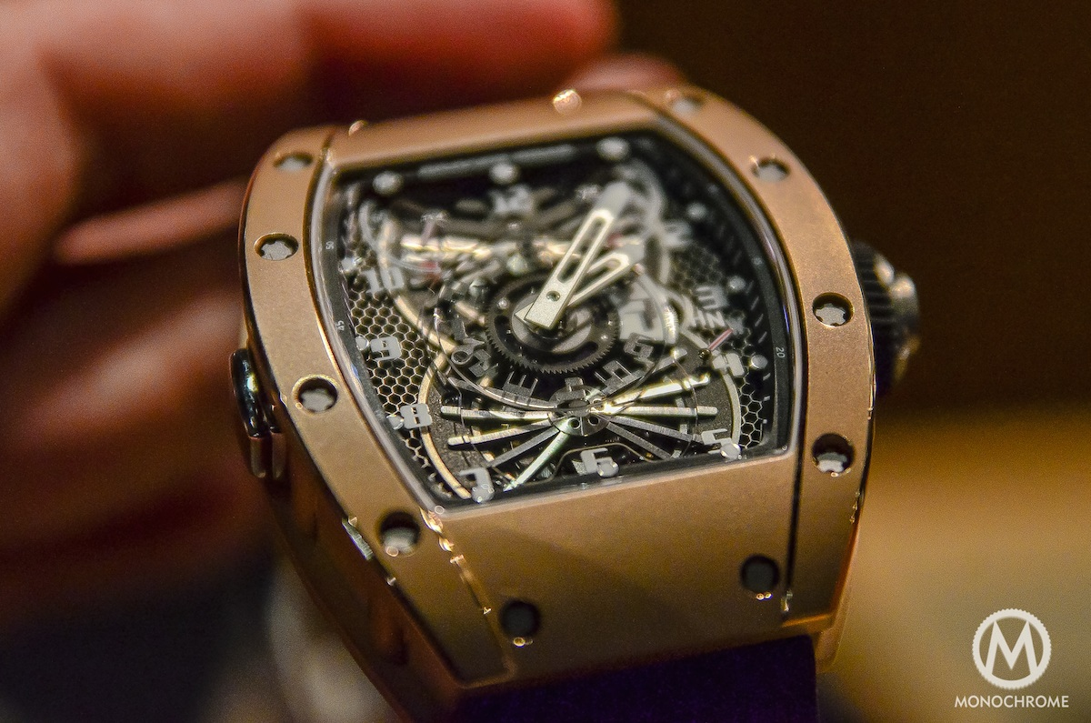 Hands-on with the Richard Mille RM-022 Aerodyne
