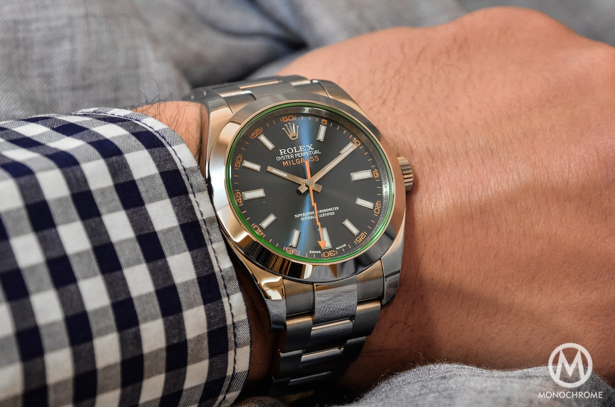 Hands On With The Rolex Milgauss Blue Ref 116400gv