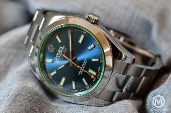 Rolex Milgauss Blue 116400GV - 4