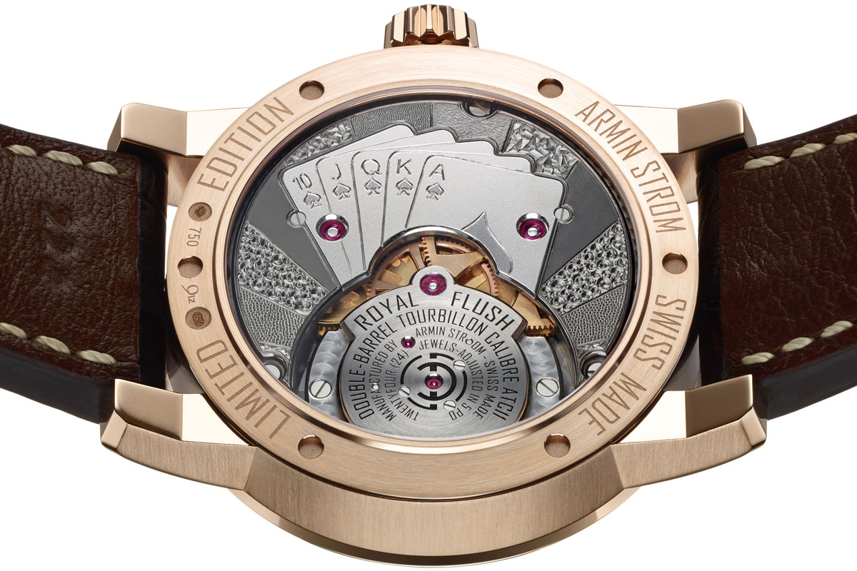 Armin Strom Tourbillon Royal Flush pièce unique for JCK Vegas