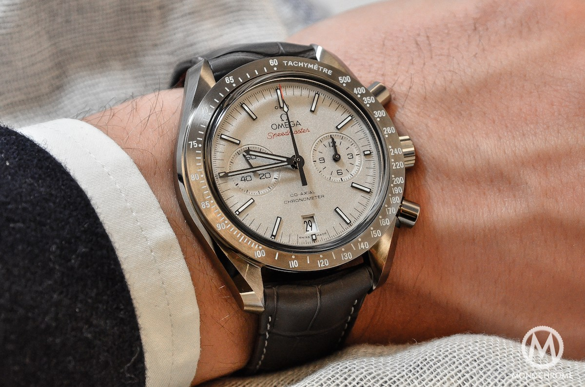 Hands-on with the Omega Speedmaster Lunar Dust ...