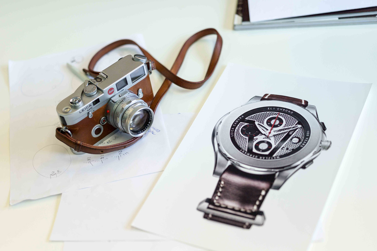 Introducing the Valbray EL1 Chronograph LEICA Limited Edition